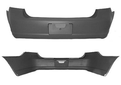 LUCERNE 06-07 Rear Cover Without SensorS With SPOILER HOL