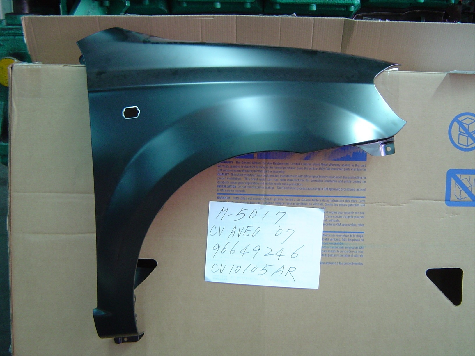 Eagle Autobody Parts Fenders for Chevrolet Aveo 2007-2011