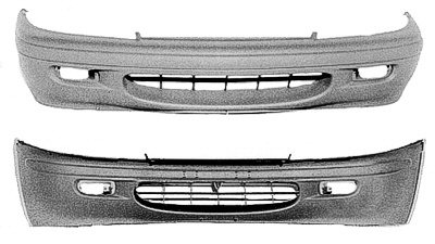 METRO 95-97 Front Bumper Cover (Gray)=SWIFT