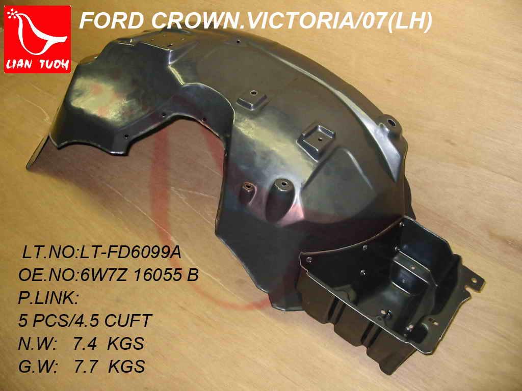 CROWN VICTORIA 03-11 FRONT BUMPER BRACKET LH