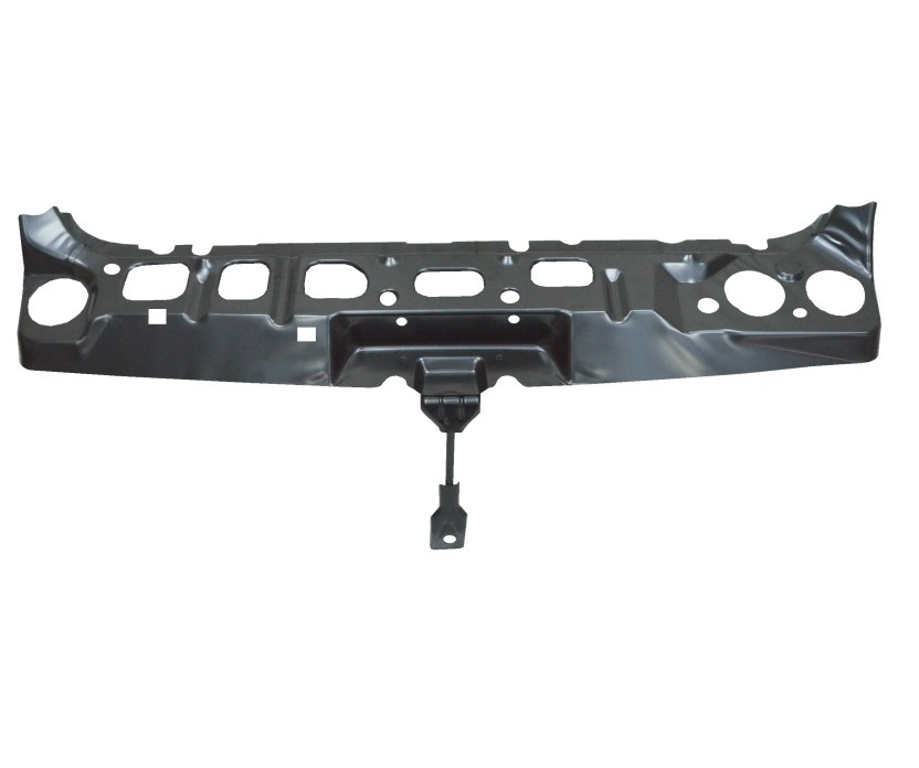 Header Panel Compatible with Ford Transit Connect 10-13 Grille Opening Panel Black Steel