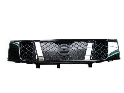 TITAN 08-15 Grille TEX Black With Chrome FRAME Standard TY