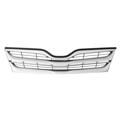 VENZA 13-15 Grille Assembly PAINTED Black/SILVER
