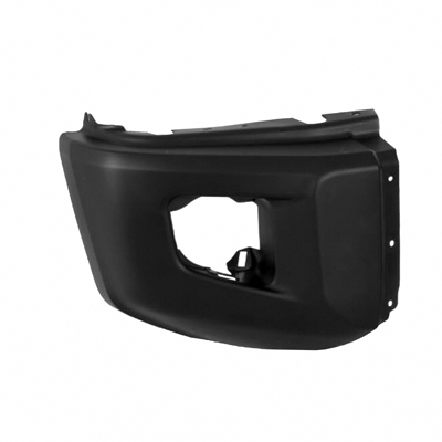 TUNDRA 14-17 Right Front Bumper EXTENSION TEX Without S