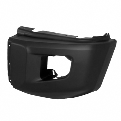 TUNDRA 14-17 Left Front Bumper EXTENSION TEX Without S