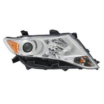 VENZA 09-16 Right Headlight Assembly HALOGEN CAPA