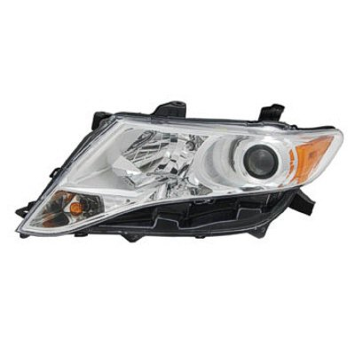 VENZA 09-16 Left Headlight Assembly HALOGEN CAPA