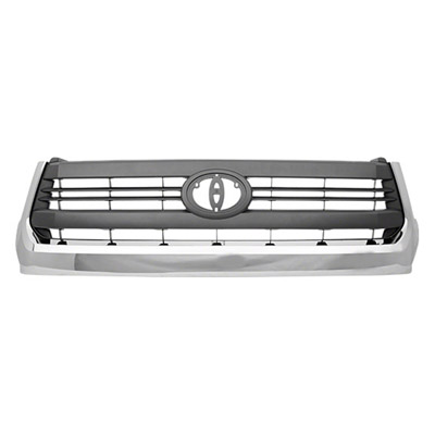 TUNDRA 14-17 Grille Gray With Chrome Molding SR5