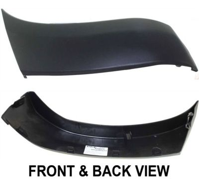 New Front LH Side Bumper End Cover Extension Fits Toyota Tacoma TO1004170