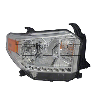 TUNDRA 14-17 Right Headlight Assembly HALOGEN With LEVELING