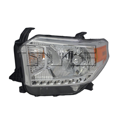 TUNDRA 14-17 Left Headlight Assembly HALOGEN With LEVELING